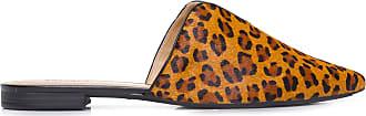 Anacapri Mule Bico Fino Recorte Anacapri - Animal Print
