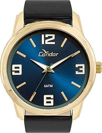 Condor Relógio Condor Masculino Ref: Co2035kwv/2a Casual Dourado
