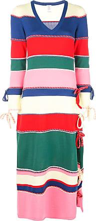 Rosie Assoulin Vestido listrado de tricô - Estampado