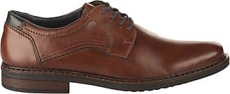 Rieker Men 17627 Dustin Lace-Up Shoes - Brown 9.5 UK