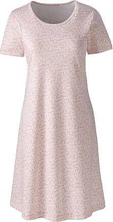 4e95d9b84e8 Lands End Womens Petite Supima Patterned Nightdress - 10 -12