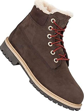 099c6d8099 Timberland Damen Kinder Stiefel mit echtem Fell - 6 Inch Premium WP  Shearling Boot red briar