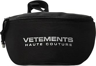 VETEMENTS Branded Belt Bag Mens Black