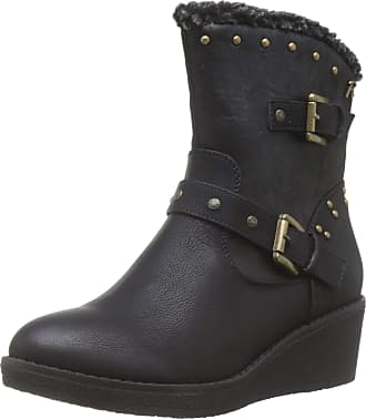 Refresh Womens 69198 Ankle Boots, Black, 6 UK