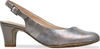 Van Dal Winton Wider EE Fit Sling Back Heels, Lunar Print/Metal, Size 6.5 UK