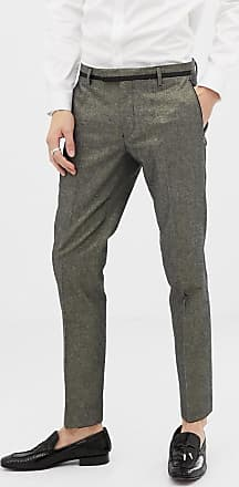 Twisted Tailor Pantaloni da abito super skinny oro