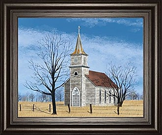 Classy Art Little House On The Prairie by Billy Jacobs Framed Print Wall Art