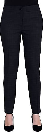 MySocks Regular Tailored Trousers Navy Check