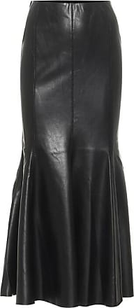 Nanushka Artem faux leather midi skirt