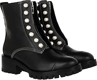 3.1 Phillip Lim Boots & Booties - Hayett Lug Sole Zipper Boot With Pearls Black - black - Boots & Booties for ladies