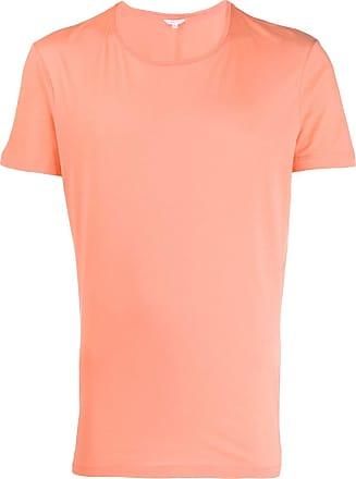 Orlebar Brown Camiseta decote careca - Rosa