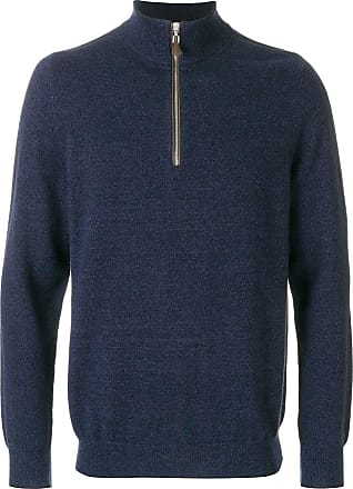 N.Peal The Carnaby cashmere jumper - Blue