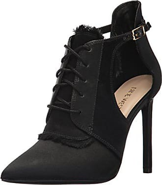 Nine West Womens Quillin Ankle Boot Size 8.5M Navy Suede Slip On Stiletto NEW
