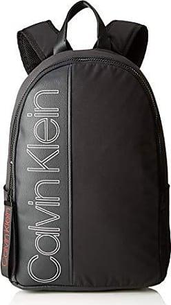 444dcd7a0f3ed3 Calvin Klein Jeans Double Logo Round Backpack - Zaini Uomo, Nero (Black),