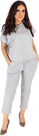 Women/'s Ladies Puff Sleeve Top Bottom Jogging Loungewear Suit Boxy Tracksuit Set