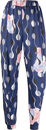 Henrik Vibskov Pantaloni No. 4 con stampa - Di colore blu