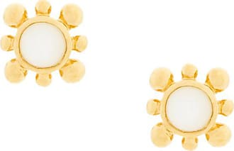 Astley Clarke Par de brincos Mini Floris com madrepérola - Metálico