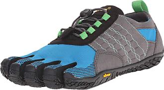 Vibram Fivefingers Womens Trek Ascent Outdoor Fitness Shoes, Multicolour Grey Blue Green, 5 UK