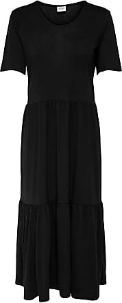 Jacqueline de Yong Womens JDYDALILA Frosty S/S Dress JRS NOOS, Black, M