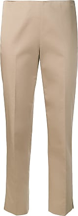 Incentive! Cashmere creased tapered trousers - Marrom