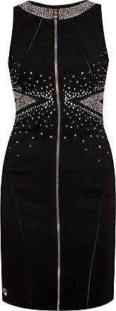 Philipp Plein Sleeveless Dress Womens Black