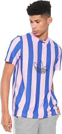 adidas Originals Camiseta adidas Originals Es Ply Jersey Rosa/Azul