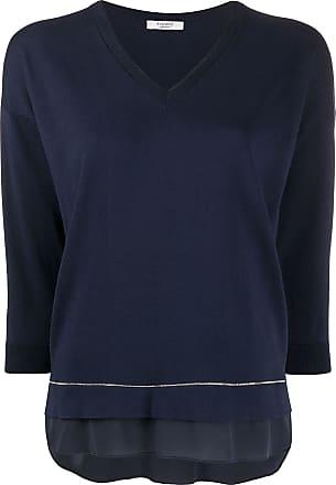 PESERICO Suéter mangas longas - Azul