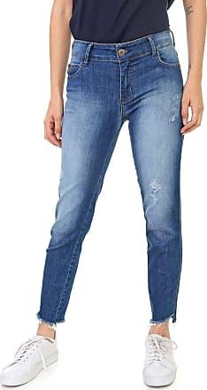 Triton Calça Jeans Triton Skinny Cropped Fátima Azul