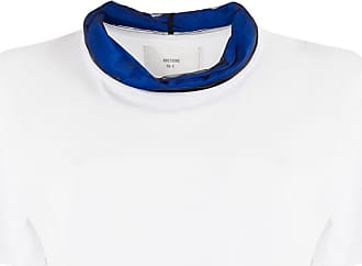 Quetsche organza trim T-shirt - White