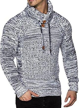Tazzio Herren Pullover in Weiß | Stylight
