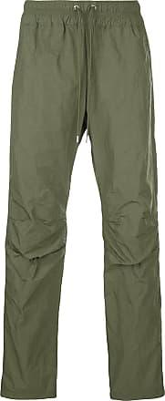 John Elliott + Co drawstring waist trousers - Verde
