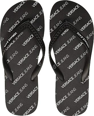 a3db947fc Versace Mens Shoes Flip Flops, Black (Nero 899), 7 UK