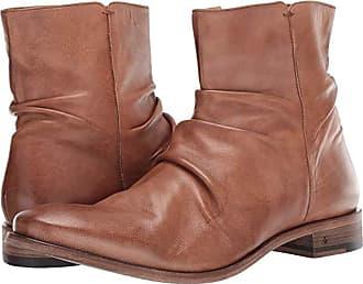John Varvatos Morrison Sharpei Boot (Wood Brown) Mens Zip Boots