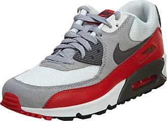 Nike Boys AIR MAX 90 (GS) Low-Top Sneakers Black Size: 5 UK