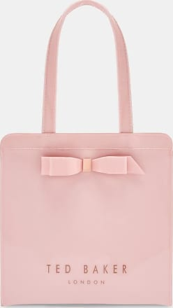 Ted Baker Bow Detail Small Icon Bag in Light Pink ARYCON, Womens Accessories