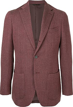 Durban knit formal blazer - Red