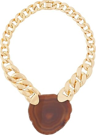 Zimmermann Agate & Gold-plated Chain Necklace - Womens - Gold