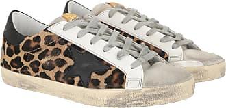 Golden Goose Sneakers - Superstar Sneaker Snow Leo/Black - brown - Sneakers for ladies