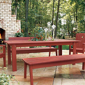 UWharrie Chair Outdoor Uwharrie Behrens 85 in. Rectangular Patio Dining Table - B093-000-NAT
