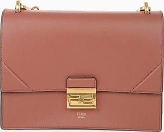 Fendi Leather KAN U Shoulder Bag size Unica