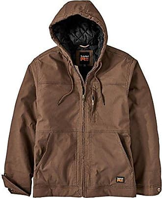 Timberland Mens Big and Tall Baluster Insulated Hooded Work Jacket ef2aeac709