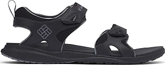 Columbia Mens 2 Strap Sandal, Black (Black, Ti Grey Steel 010), 6 UK
