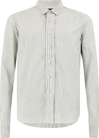 Ziggy Chen raw hem shirt - Grey