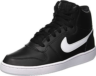 the latest 8e989 49e25 Nike Ebernon Mid, Zapatillas Altas para Mujer, Negro (BlackWhite 001)