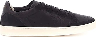 Officine Creative Fashion Man OCUKAEE002OLIV1 Black Leather Sneakers | Spring Summer 20