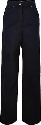 Jacquemus High-rise Wide-leg Jeans - Navy
