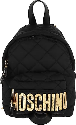 Moschino Backpacks - Quilted Backpack Fantasia Nero - black - Backpacks for ladies