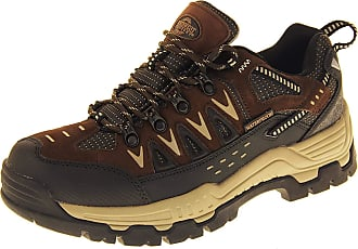 Northwest Territory Mens Northwest Leather Walking Hiking Waterproof Ankle Boots Trainers Shoes (UK 10)