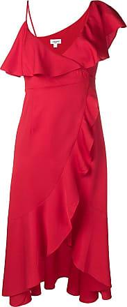 Jovonna London Vestido com acabamento de babados - Vermelho