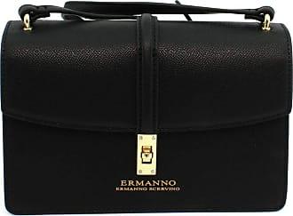 Ermanno Scervino Borsa ERMANNO SCERVINO MINI TOTE WITH FLAP GIANNA BLACK 12400943